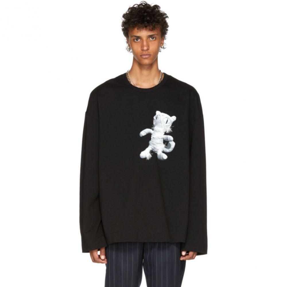 ジュン.J メンズ トップス 長袖Tシャツ【Black Cat Mummy Long Sleeve T-Shirt】