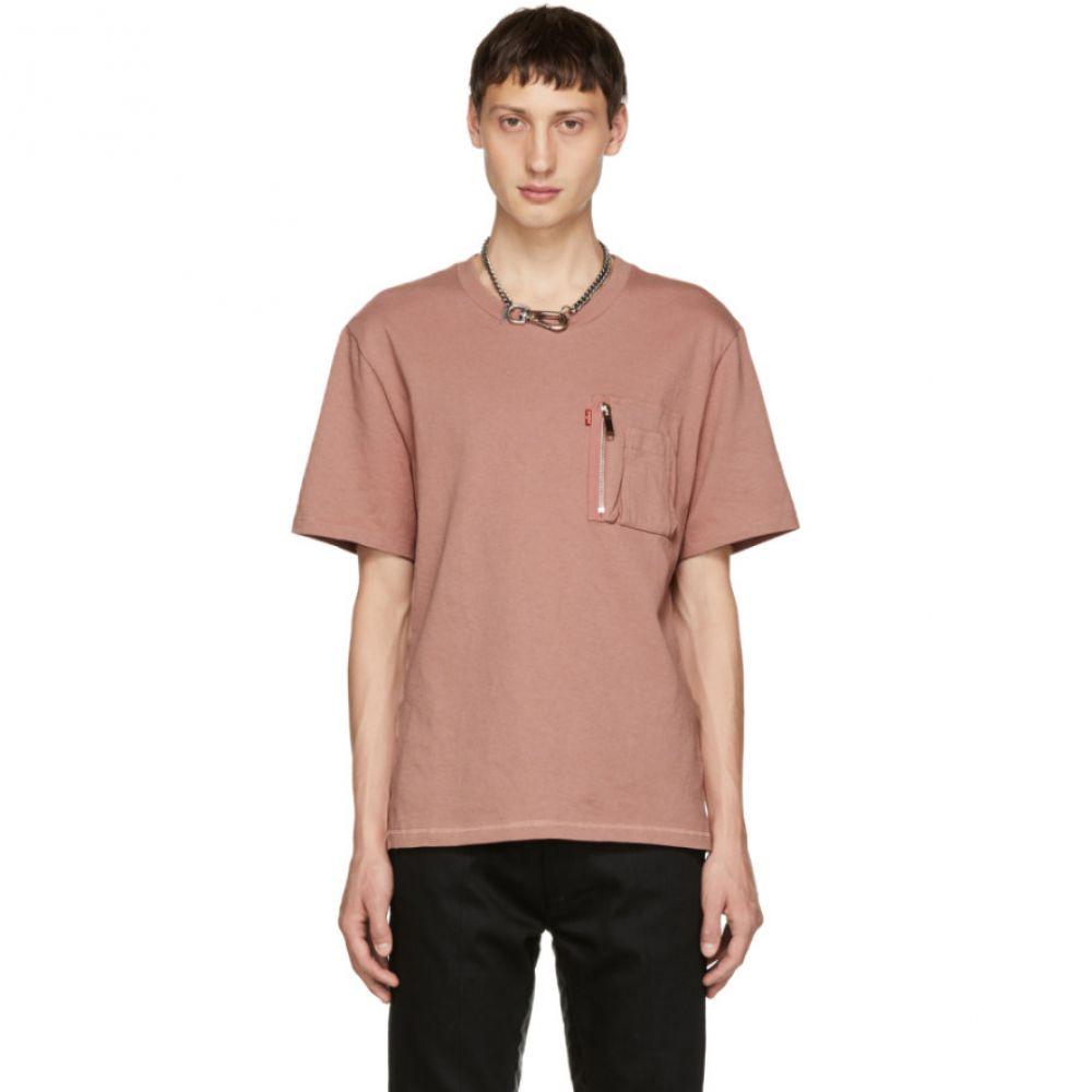 クリスチャン ダダ メンズ トップス Tシャツ【Pink Signature Pocket T-Shirt】