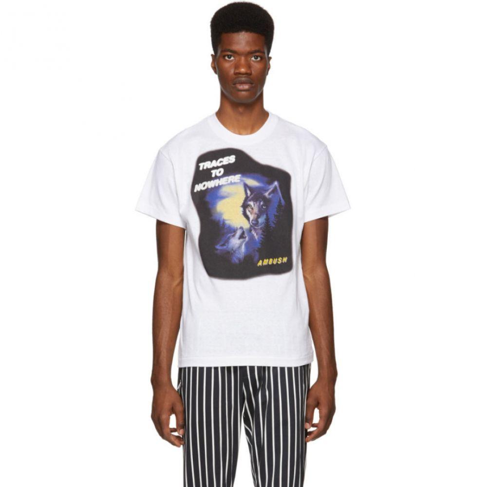 アンブッシュ メンズ トップス Tシャツ【White Wolf T-Shirt】