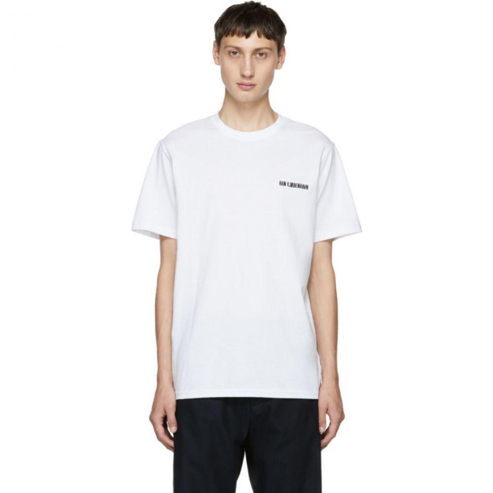 ハン コペンハーゲン メンズ トップス Tシャツ【White Casual Logo T-Shirt】