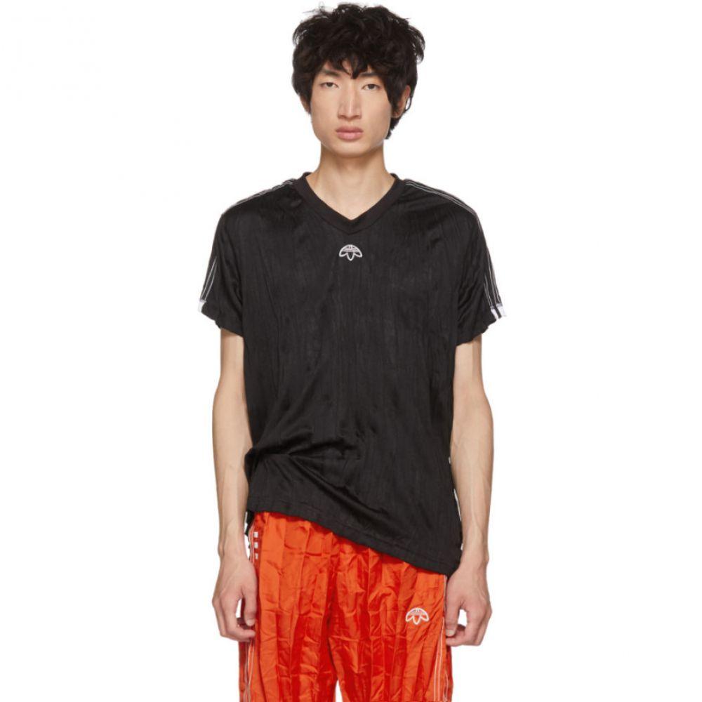 アディダス メンズ トップス Tシャツ【Black Regular Soccer Jersey T-Shirt】