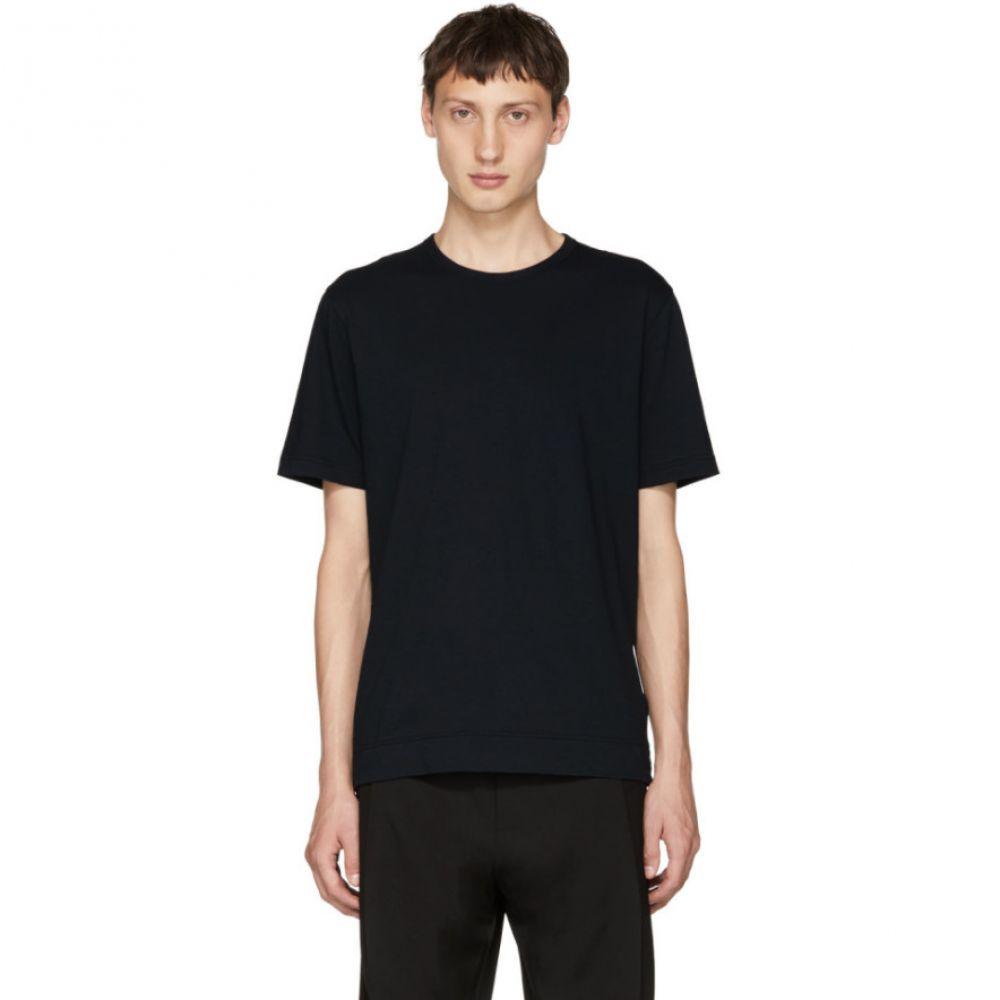 ジョゼフ メンズ トップス Tシャツ【Navy Mercerized Jersey T-Shirt】