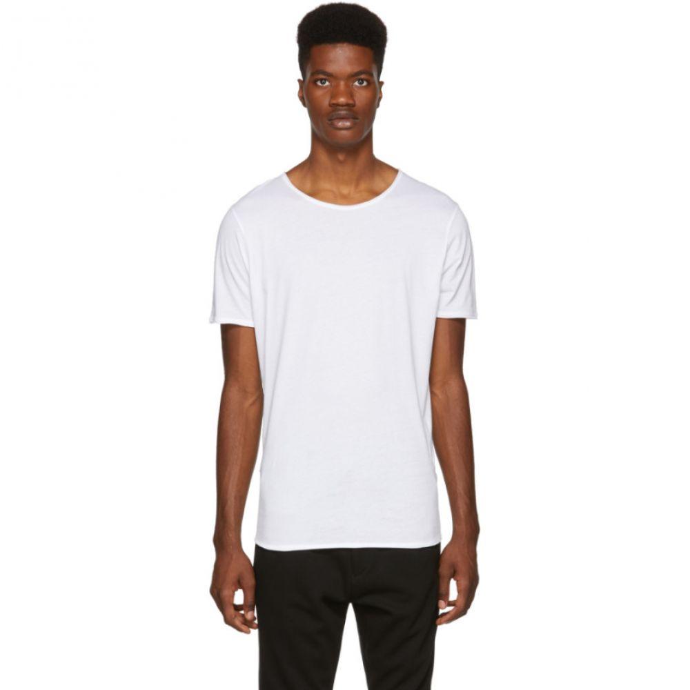 ヒューゴ ボス Hugo メンズ トップス Tシャツ【White Depusi T-Shirt】