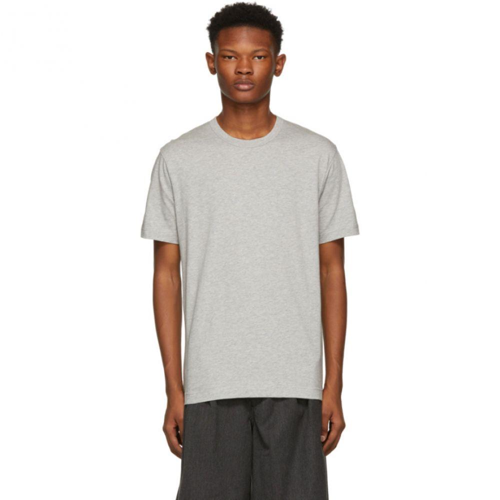 コム デ ギャルソン Comme des Garcons Shirt メンズ トップス Tシャツ【Grey Basic Logo T-Shirt】