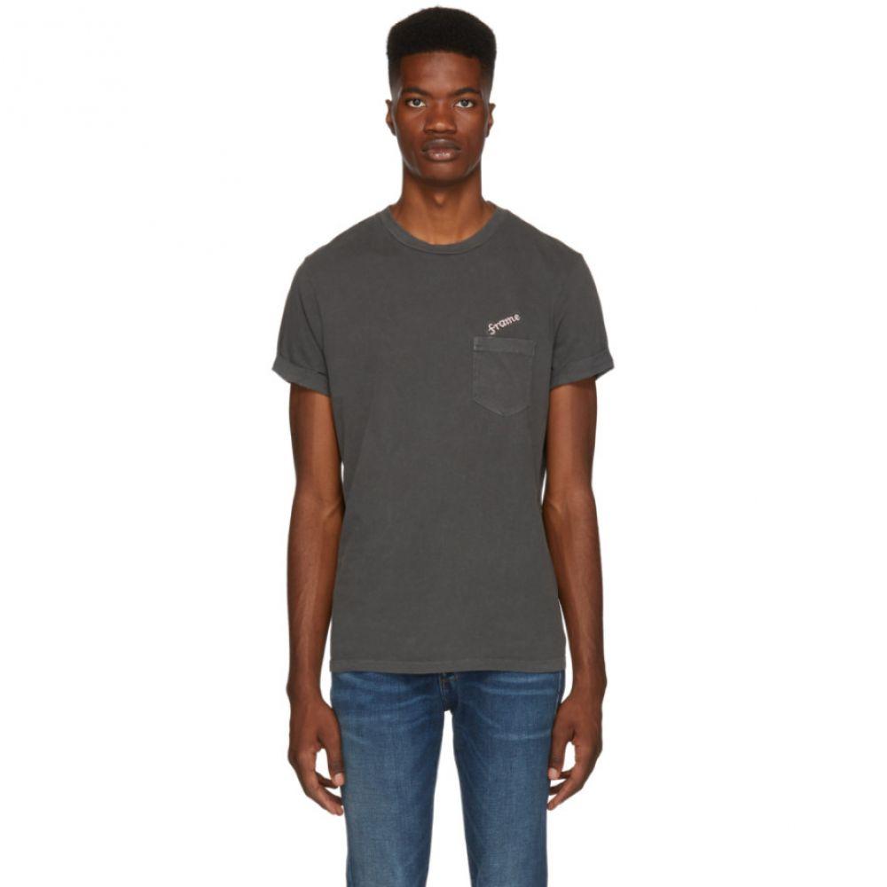 フレーム Frame メンズ トップス Tシャツ【Grey Logo T-Shirt】