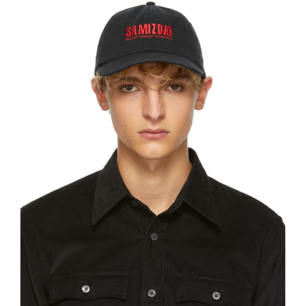ヤンリ Yang Li メンズ 帽子 キャップ【Black 'Short Circuit' Cap】