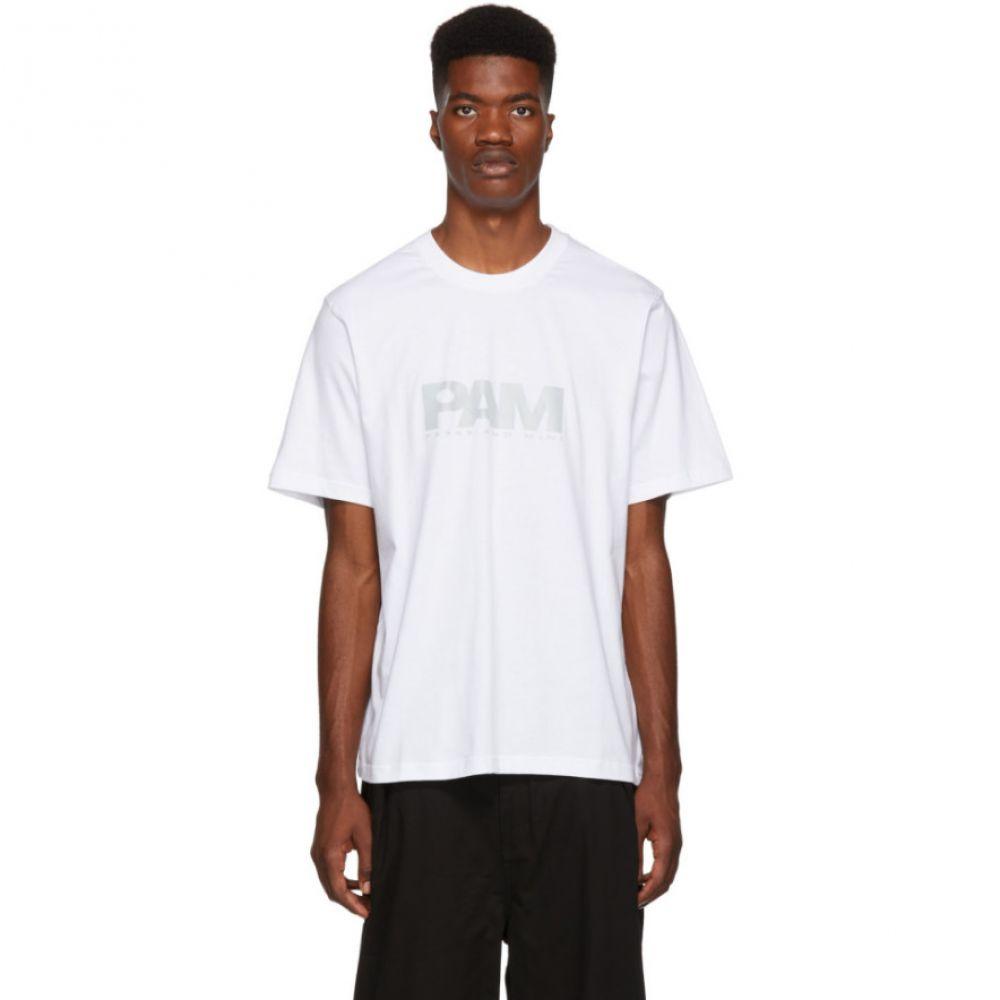 パークスアンドミニ Perks and Mini メンズ トップス Tシャツ【White Reflective Logo T-Shirt】