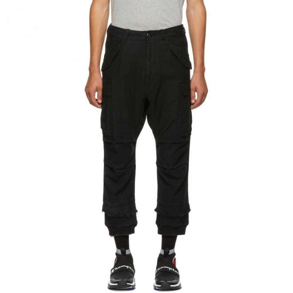 アール サーティーン R13 メンズ ボトムス・パンツ カーゴパンツ【Black Harem Cargo Pants】