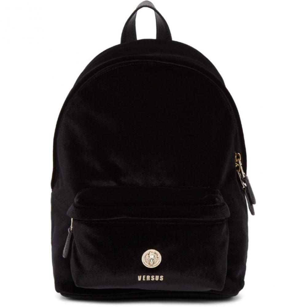 ヴェルサーチ Versus レディース バッグ バックパック・リュック【Black Velvet Lion Backpack】