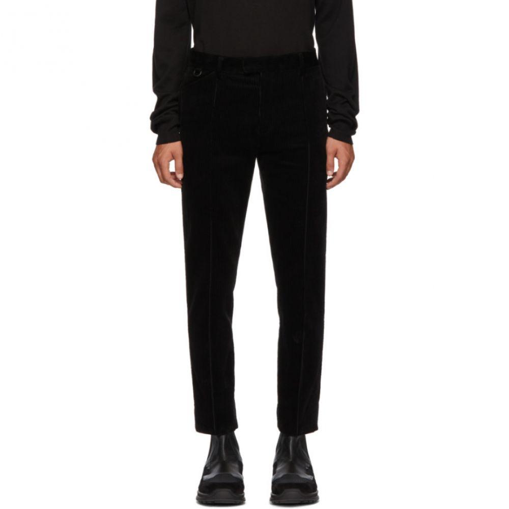 アンダーカバー Undercover メンズ ボトムス・パンツ【Black Corduroy Trousers】