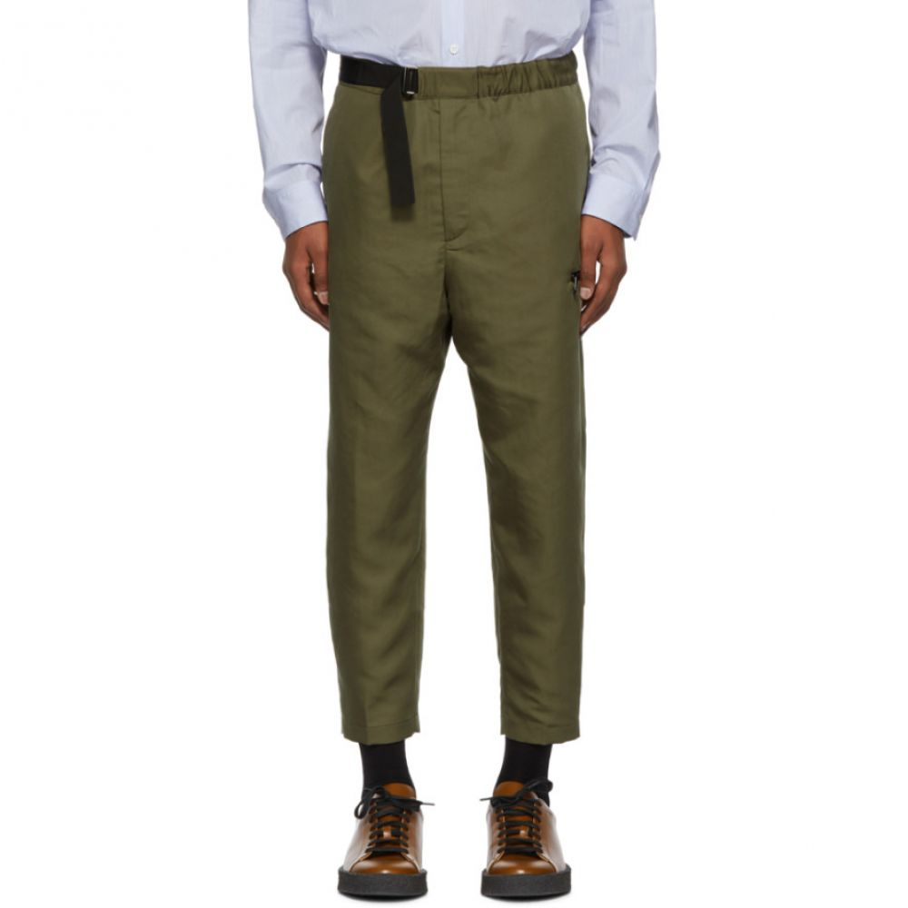 オーエーエムシー OAMC メンズ ボトムス・パンツ クロップド【Green Cropped Regs Trousers】