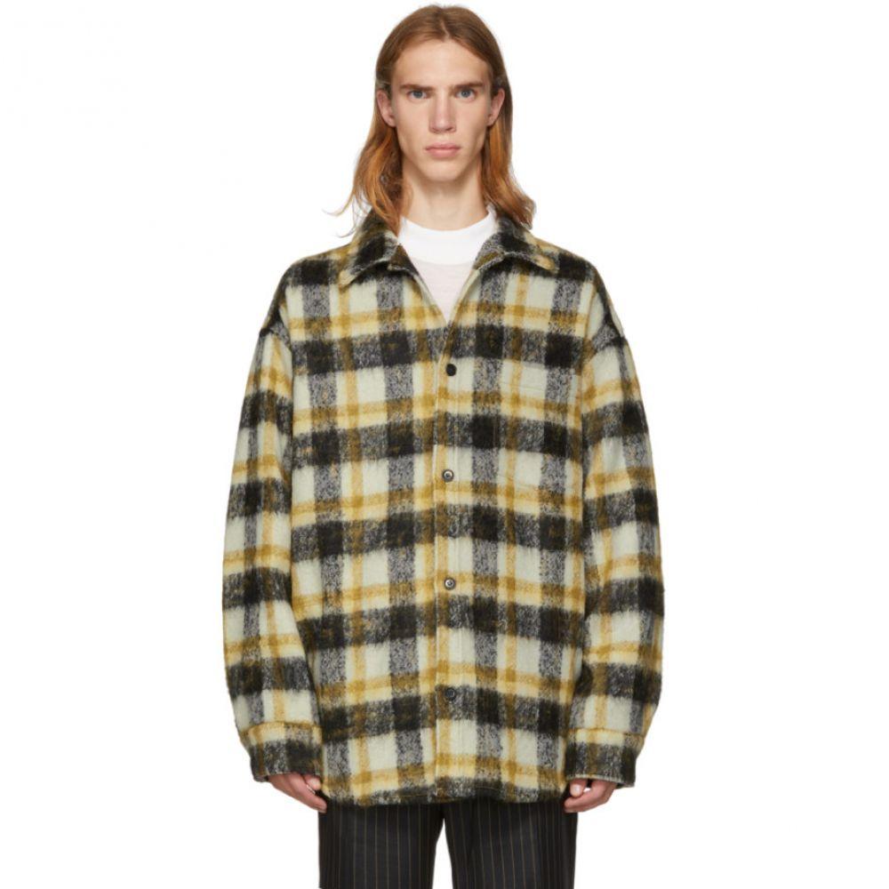 コモン スウェーデン CMMN SWDN メンズ トップス シャツ【Brown Oversized Check Sergey Shirt】