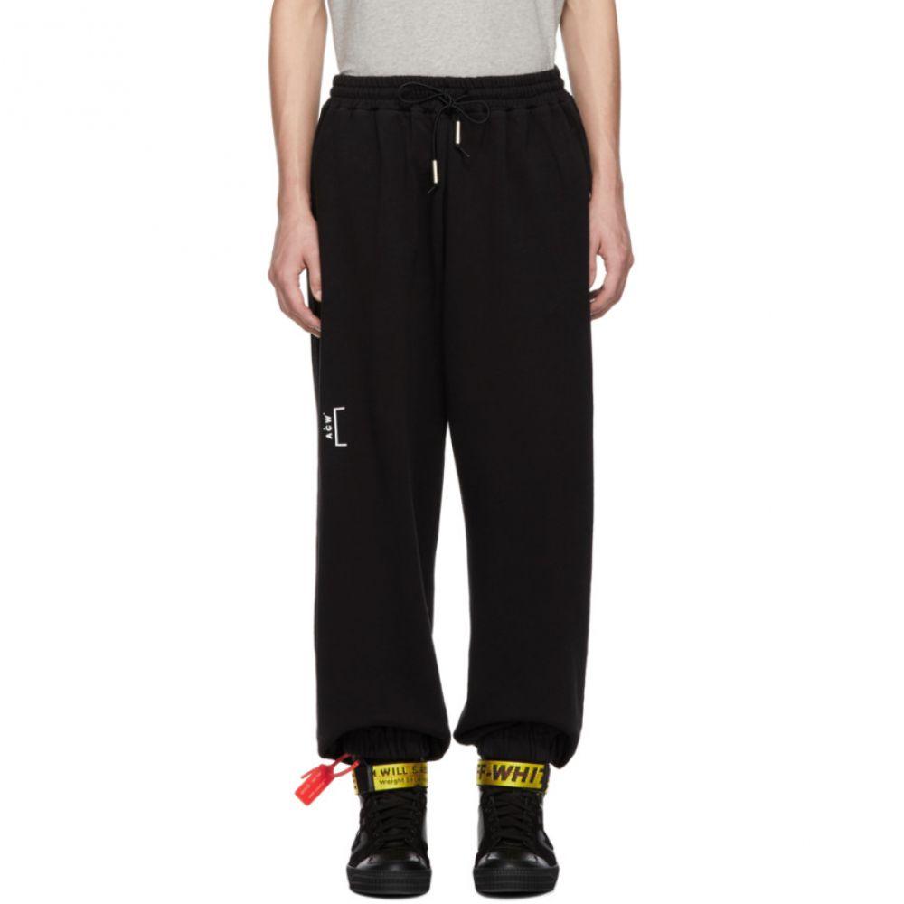アコールドウォール A-Cold-Wall* メンズ ボトムス・パンツ スウェット・ジャージ【Black Cotton Track Pants】