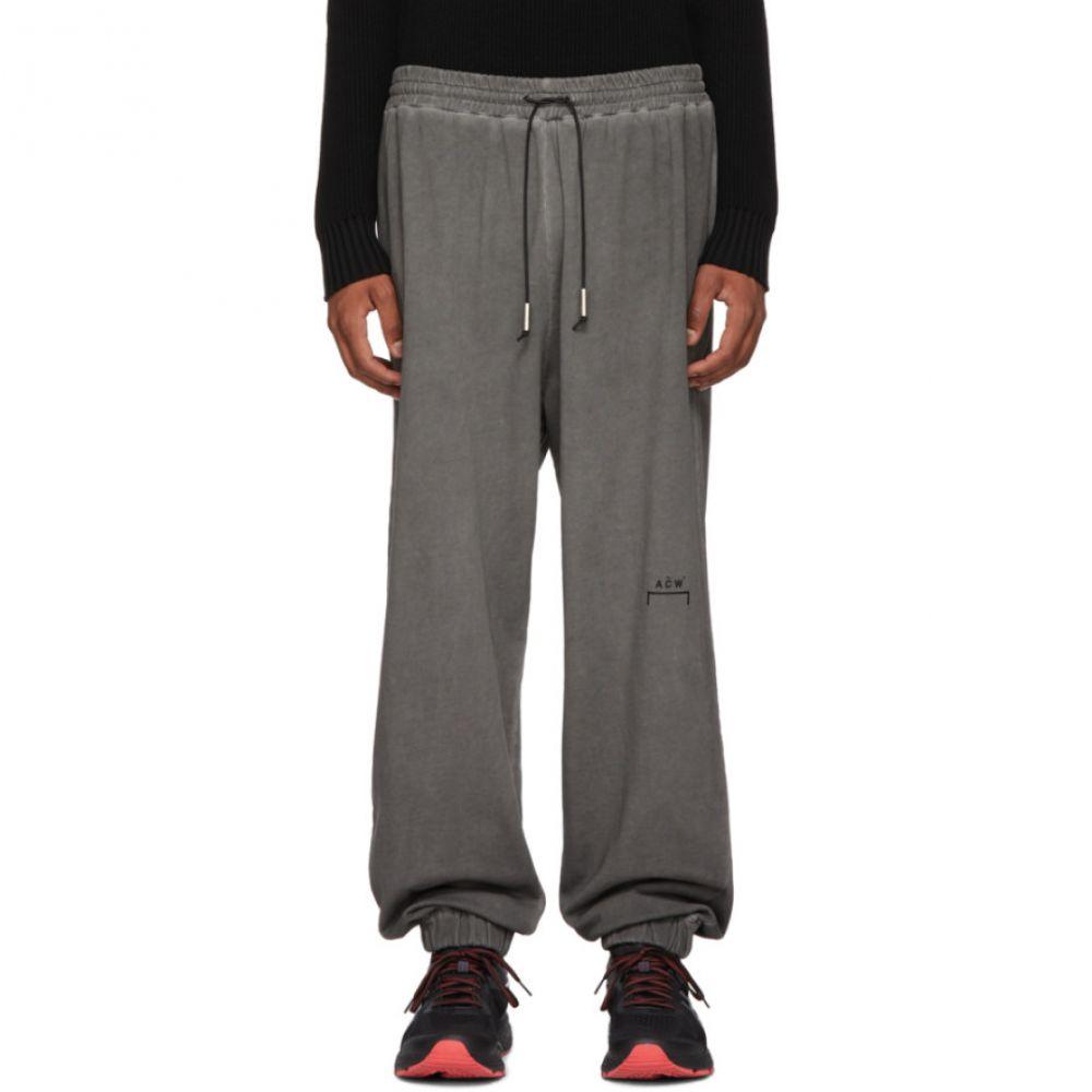 アコールドウォール A-Cold-Wall* メンズ ボトムス・パンツ スウェット・ジャージ【Grey Cotton Lounge Pants】