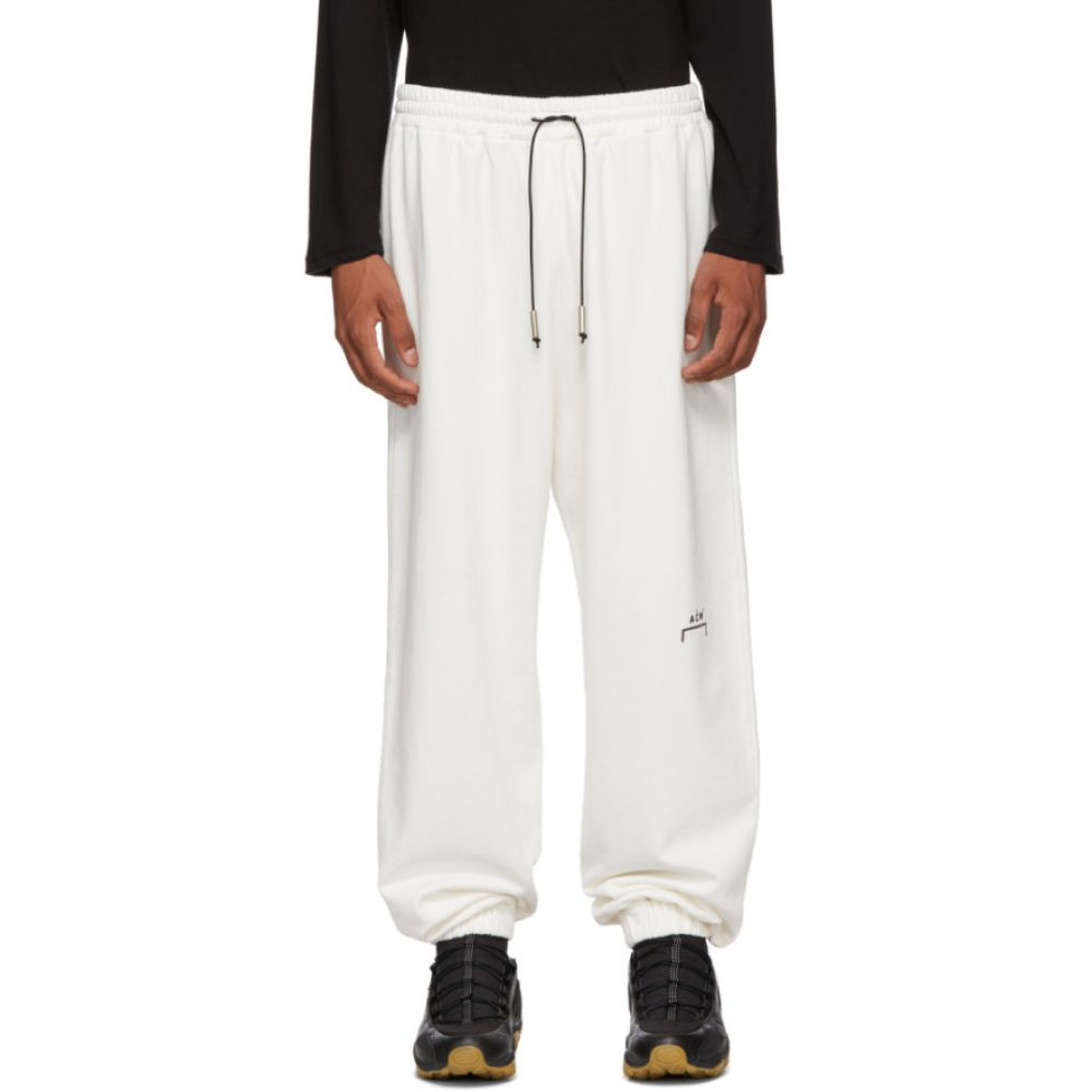 アコールドウォール A-Cold-Wall* メンズ ボトムス・パンツ スウェット・ジャージ【White Logo Lounge Pants】