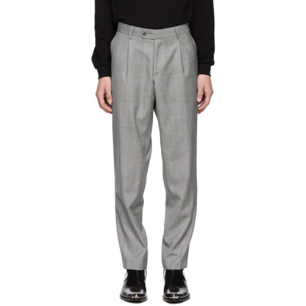ミスビヘイブ MISBHV メンズ ボトムス・パンツ スラックス【Grey Check Suit Trousers】