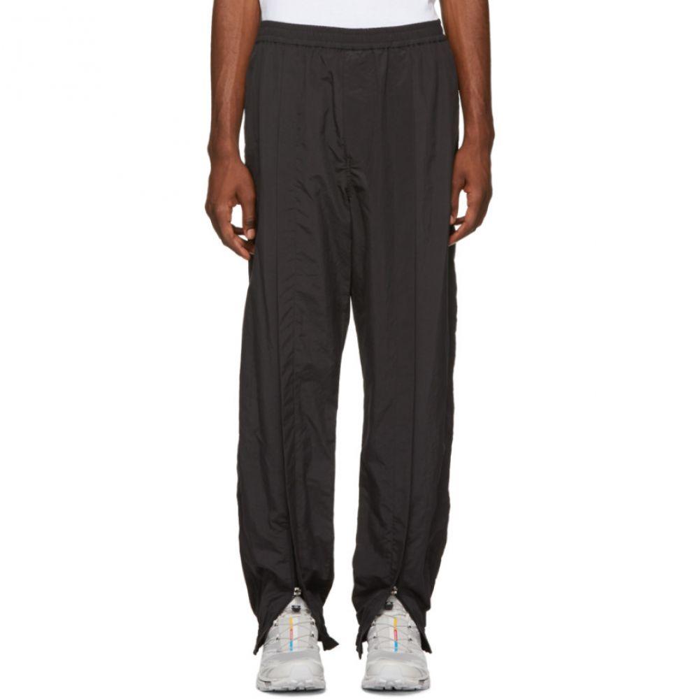 ネーム Name. メンズ ボトムス・パンツ スウェット・ジャージ【Black Ankle Zip Track Pants】