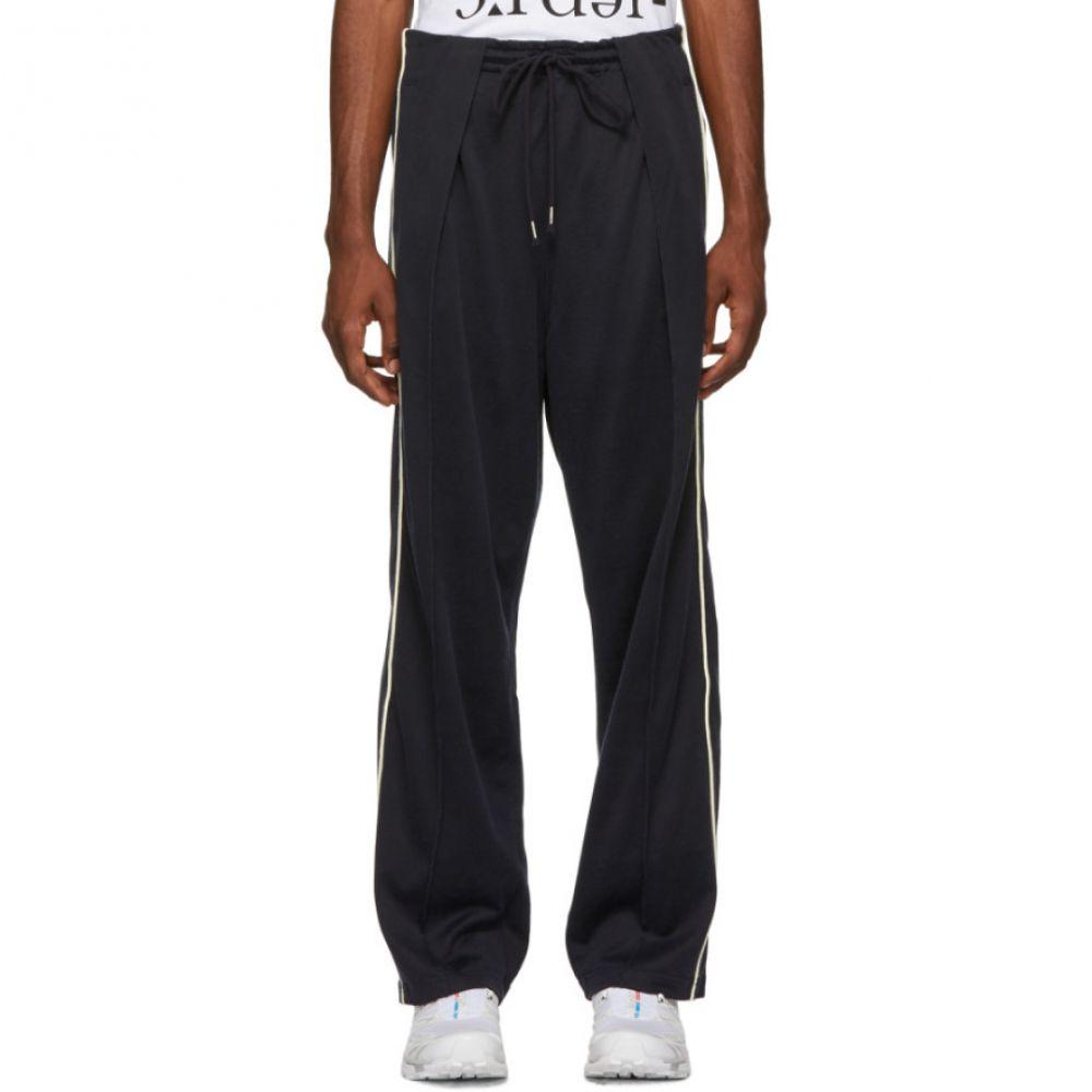 ネーム Name. メンズ ボトムス・パンツ【Navy Drawstring Trousers】