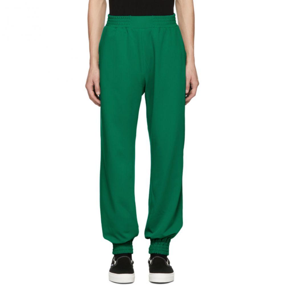 アントンベリンスキー Anton Belinskiy メンズ ボトムス・パンツ スウェット・ジャージ【Green Trainy Lounge Pants】