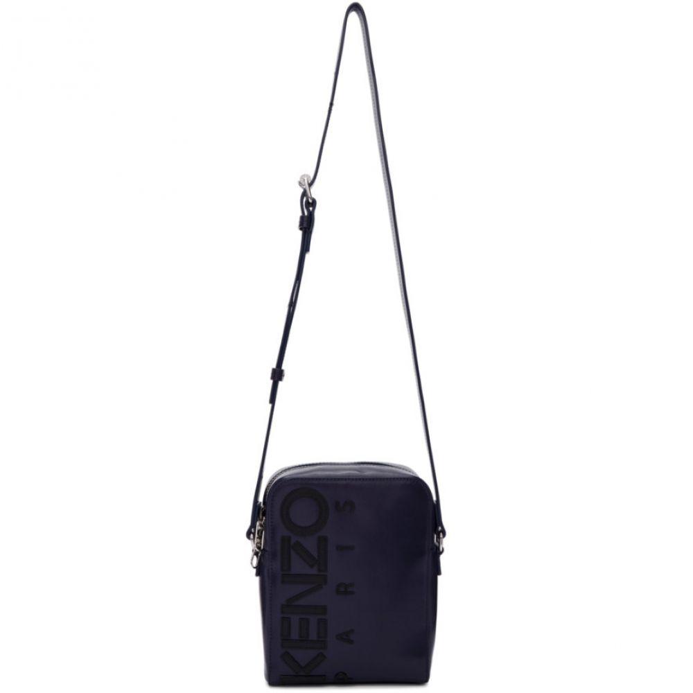ケンゾー Kenzo メンズ バッグ メッセンジャーバッグ【Navy Large Crossbody Bag】