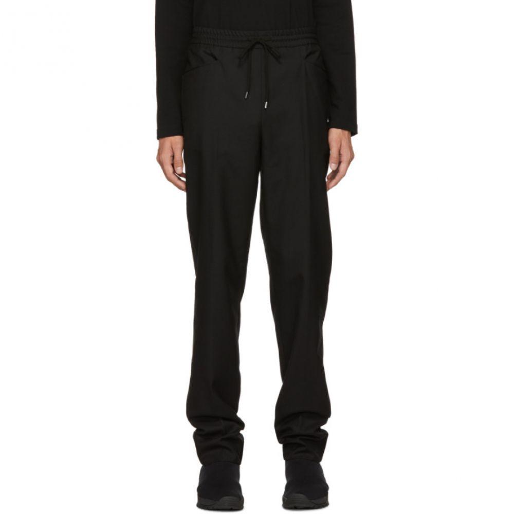 ジョン ローレンス サリバン Johnlawrencesullivan メンズ ボトムス・パンツ【Black Tapered Trousers】