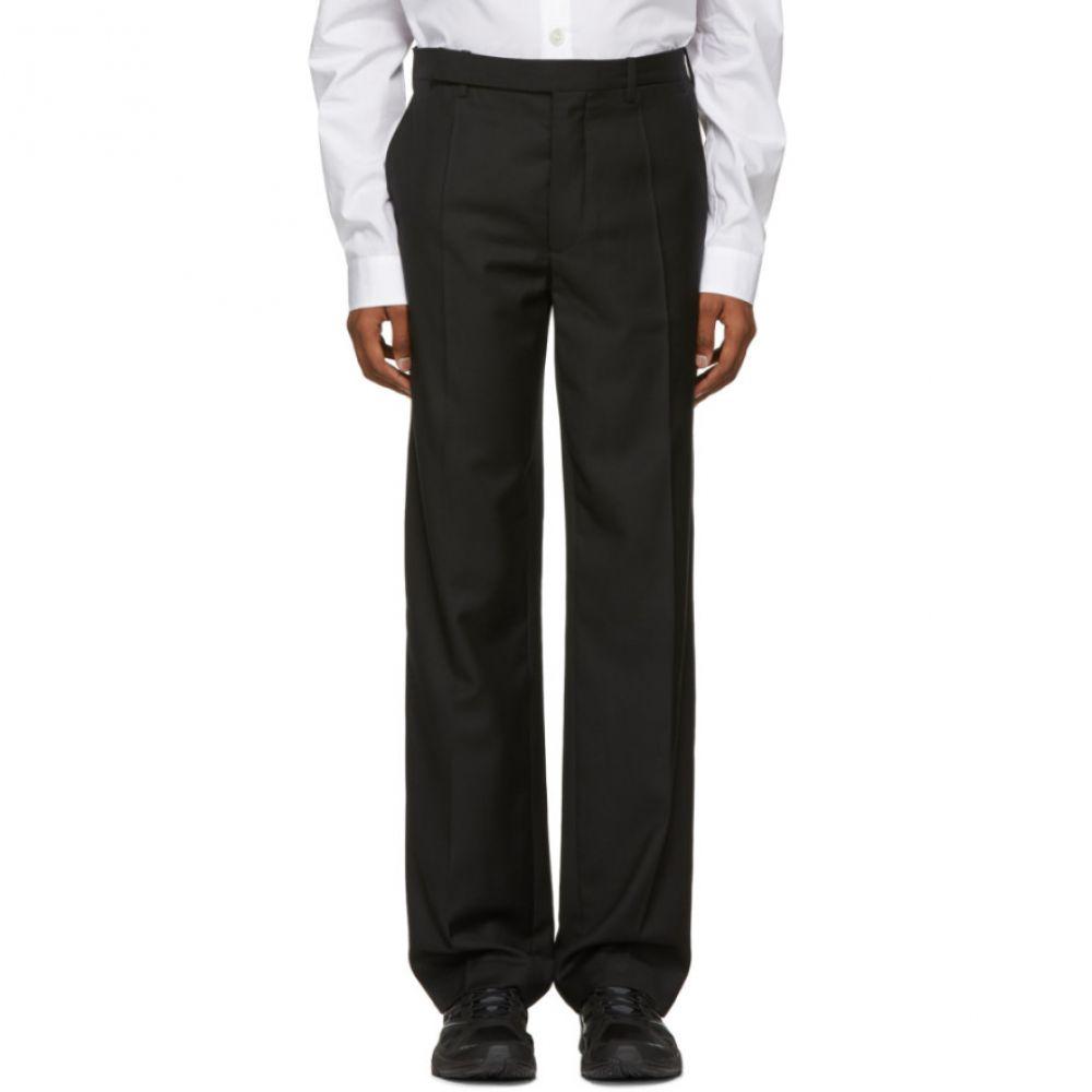 ナマチェコ Namacheko メンズ ボトムス・パンツ【Black Classical Fit Trousers】