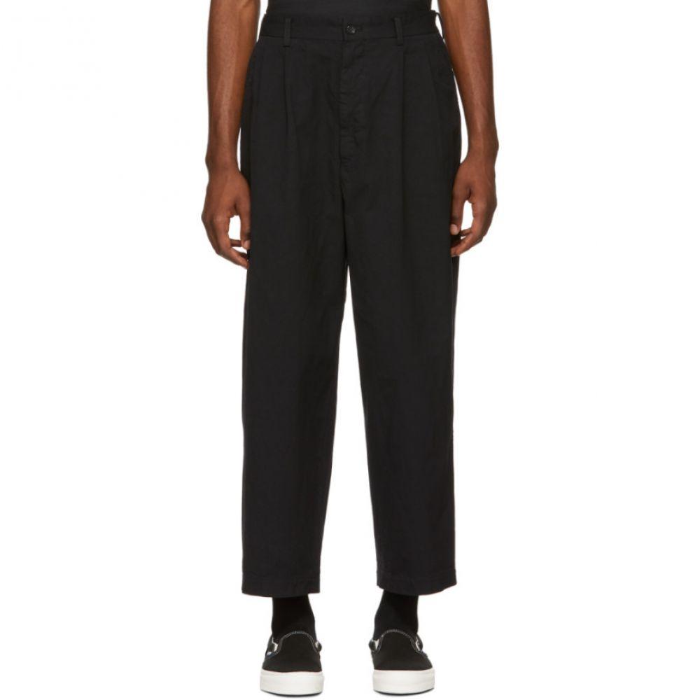 コム デ ギャルソン Comme des Garcons Homme メンズ ボトムス・パンツ【Black Twill Trousers】