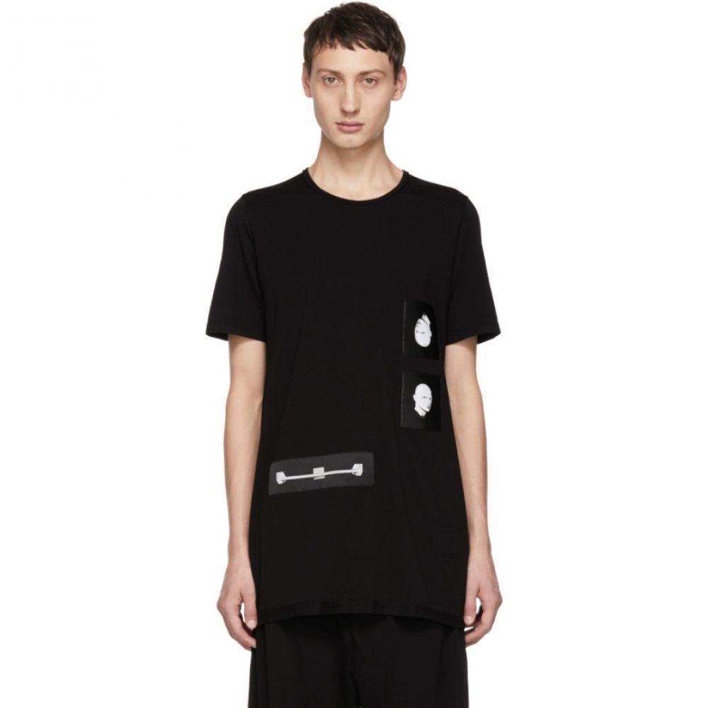 リック オウエンス Rick Owens Drkshdw メンズ トップス Tシャツ【Black Patch Level T-Shirt】