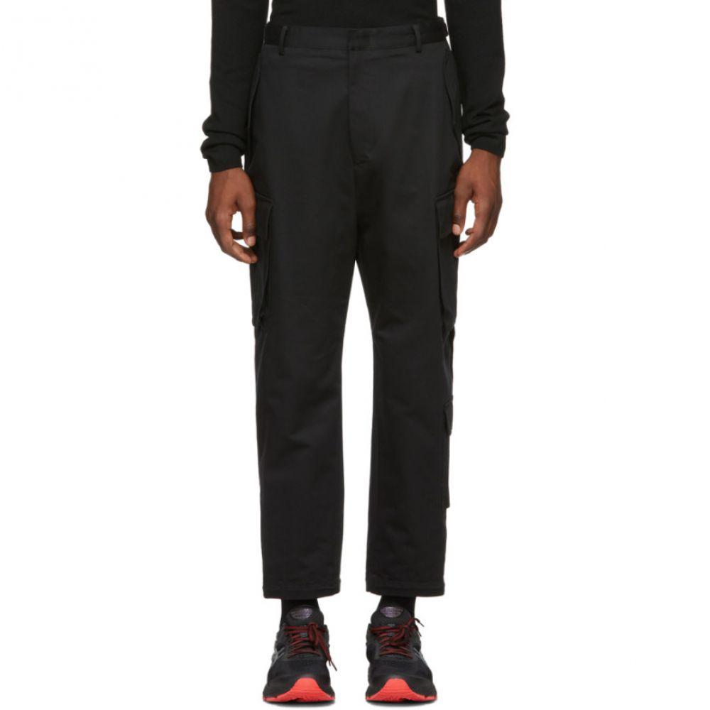 ジュン.J Juun.J メンズ ボトムス・パンツ カーゴパンツ【Black Canvas Cargo Pants】