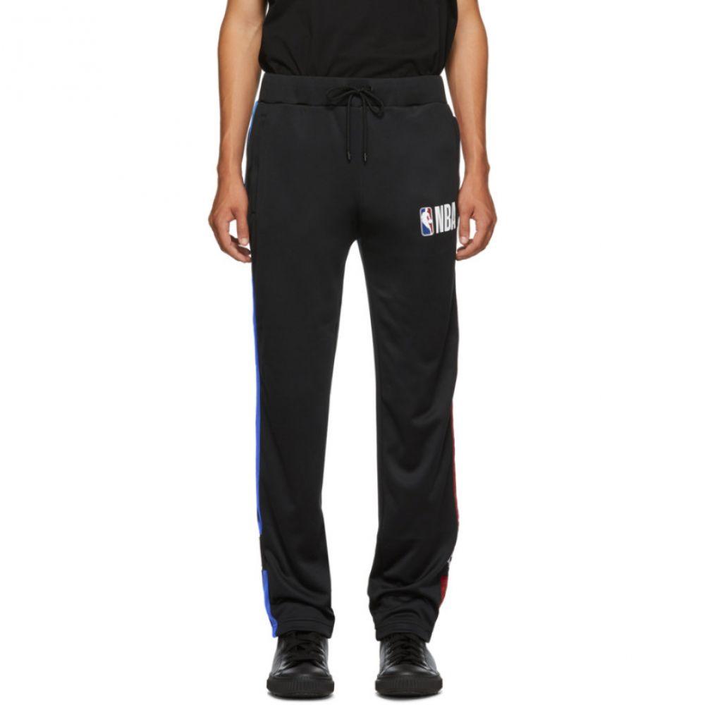 マルセロバーロン Marcelo Burlon County of Milan メンズ ボトムス・パンツ スウェット・ジャージ【Black NBA Edition Track Pants】