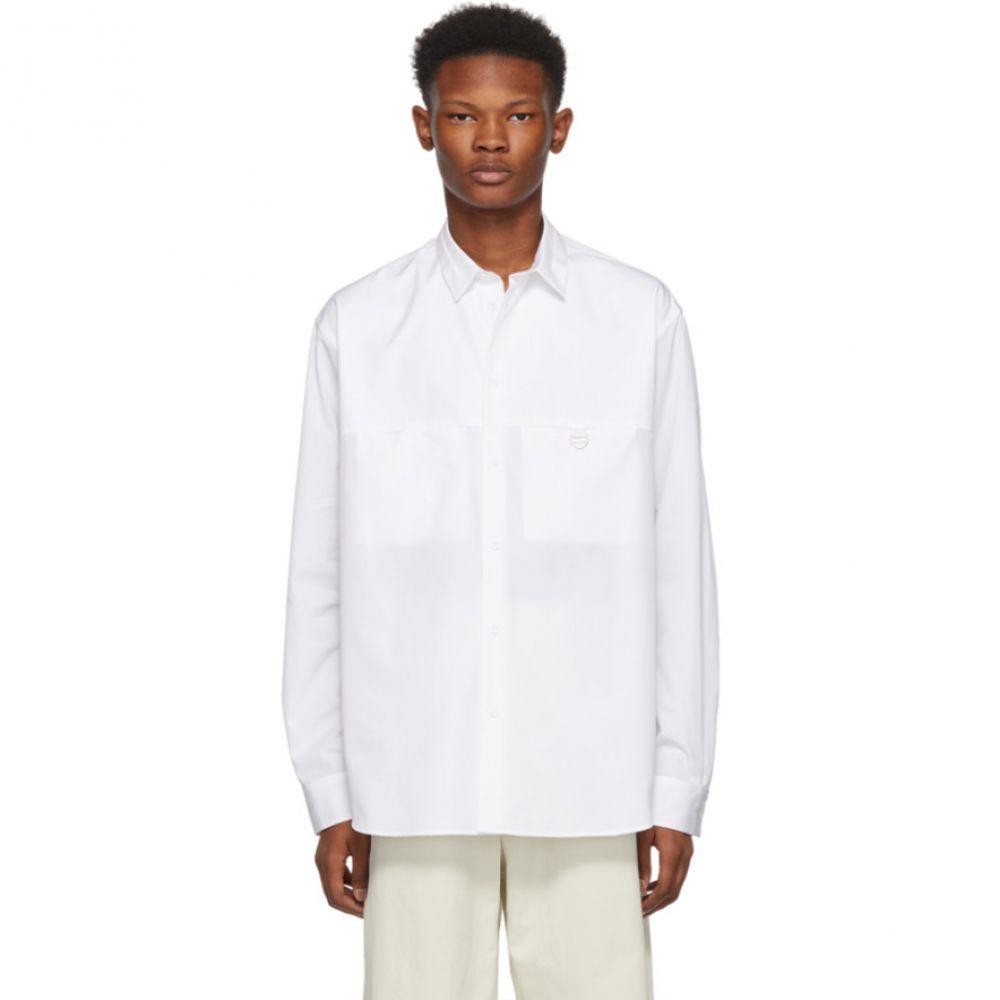 オーエーエムシー OAMC メンズ トップス シャツ【White Metal Ring Shirt】