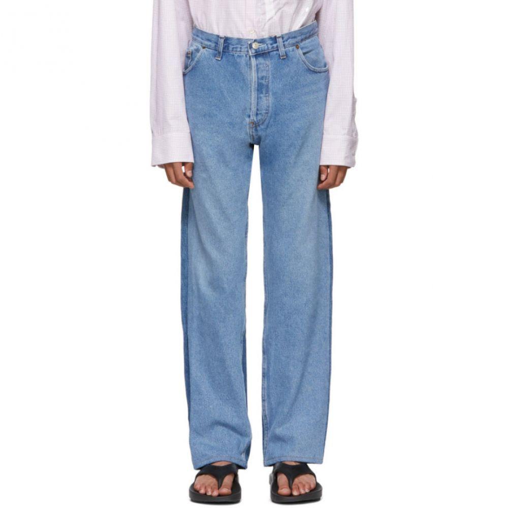 ブレス Bless メンズ ボトムス・パンツ ジーンズ・デニム【Blue Levi's Edition Two-Tone Pleatfront Jeans】
