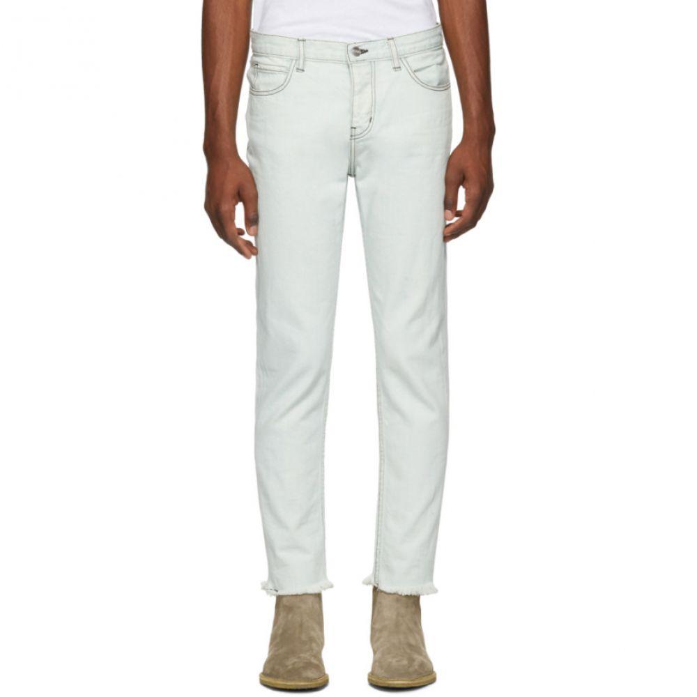 アンファン リッシュ デプリメ Enfants Riches Deprimes メンズ ボトムス・パンツ ジーンズ・デニム【Blue Contrast Stitched Jeans】