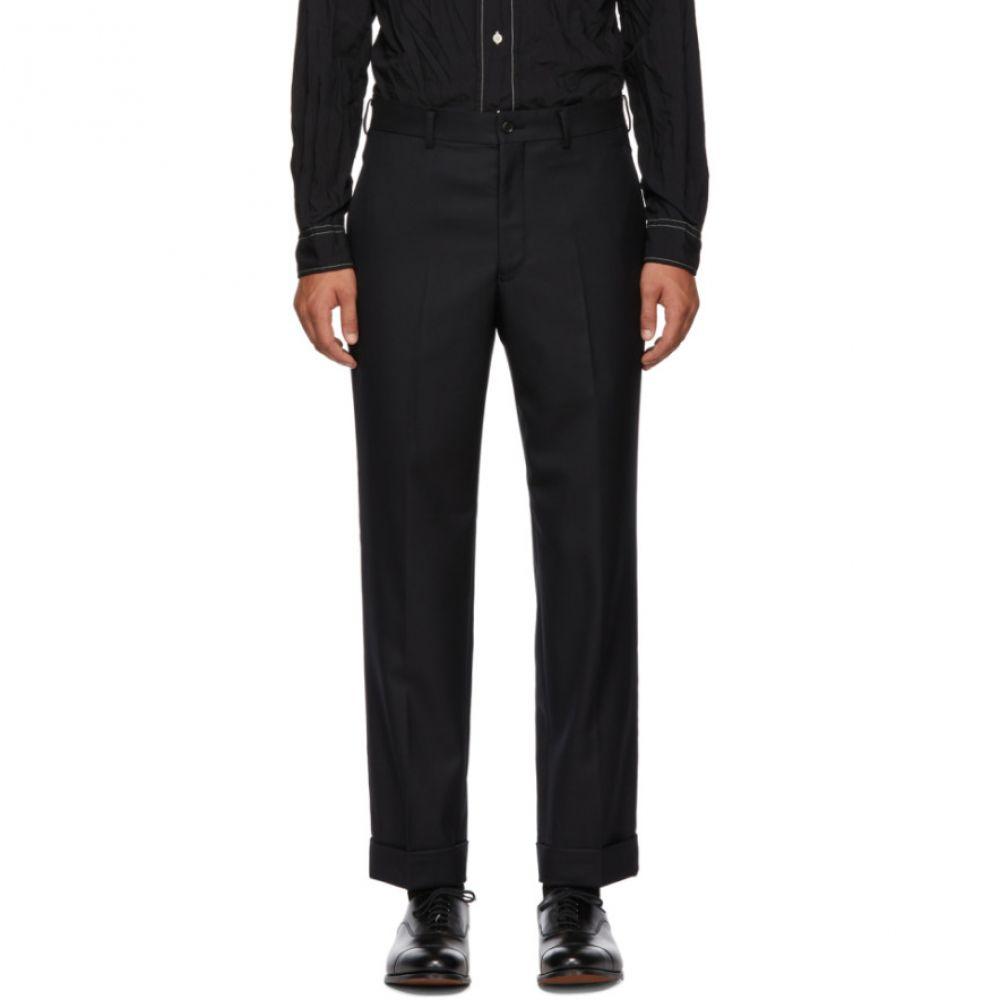 コム デ ギャルソン Comme des Garcons Homme Deux メンズ ボトムス・パンツ スラックス【Black Tasmania Wool Trousers】