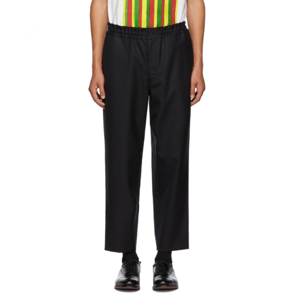 コム デ ギャルソン Comme des Garcons Homme Deux メンズ ボトムス・パンツ【Black Tasmania Trousers】
