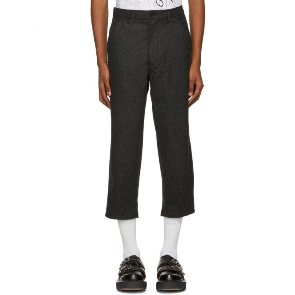【超特価sale開催】 コム デ ギャルソン Comme des Garcons Garcons Shirt メンズ ギャルソン Comme ボトムス・パンツ クロップド【Grey Merino Wool Cropped Trousers】, プロクルー 国産ハンガーラック:ff4917e8 --- portalitab2.dominiotemporario.com
