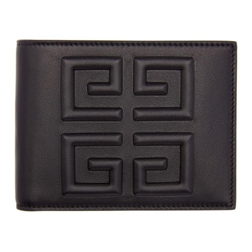 ジバンシー Givenchy メンズ 財布【Black Debossed 4G Wallet】