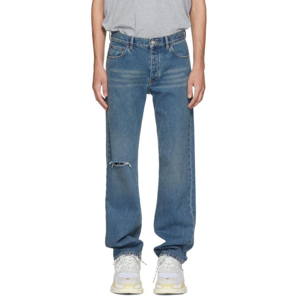 バレンシアガ Balenciaga メンズ ボトムス・パンツ ジーンズ・デニム【Blue Classic Fit Jeans】