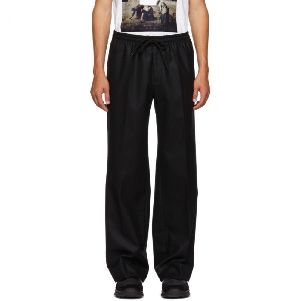 アンダーカバー Undercover メンズ ボトムス・パンツ スラックス【Black Wool Trousers】