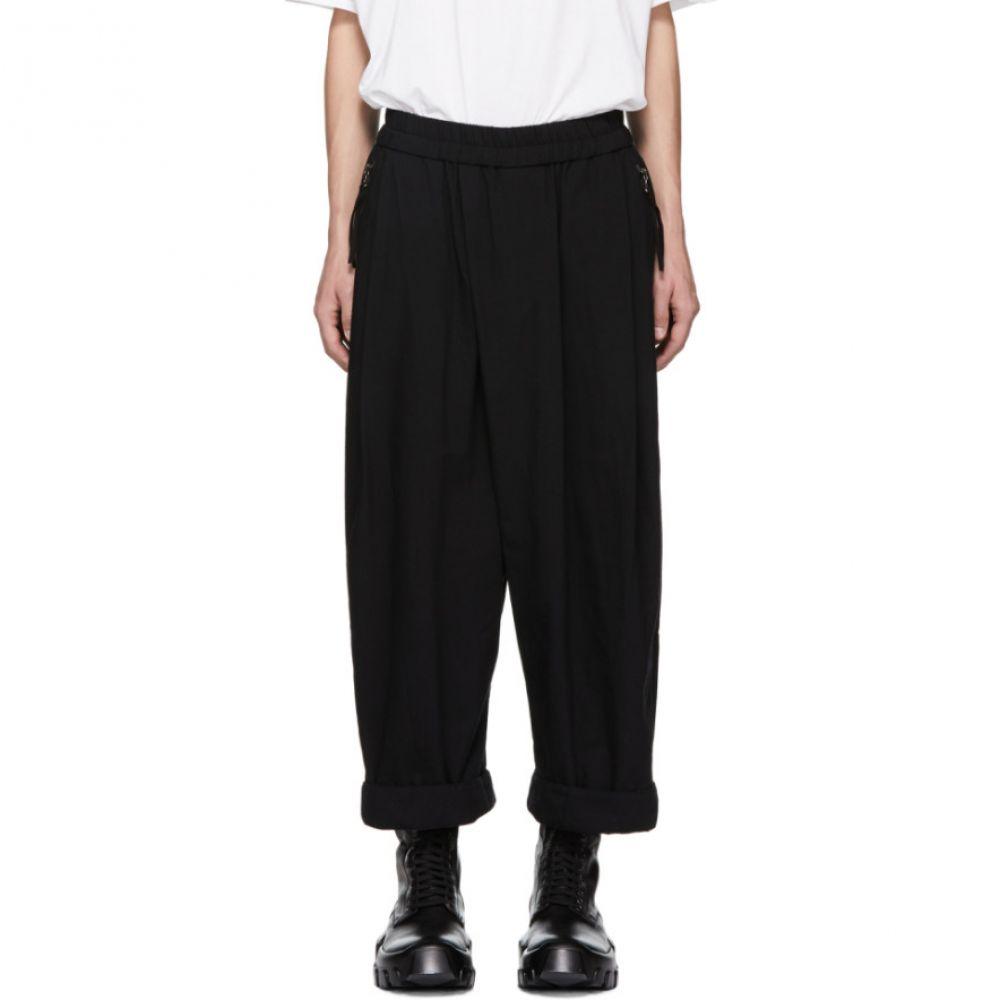 ユリウス Julius メンズ ボトムス・パンツ スウェット・ジャージ【Black Loose Fit Lounge Pants】