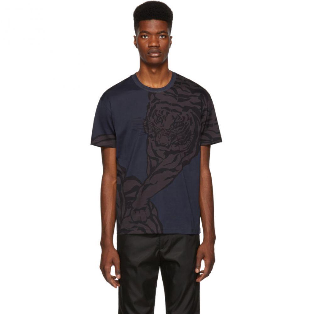 ヴァレンティノ Valentino メンズ トップス Tシャツ【Navy Tiger T-Shirt】