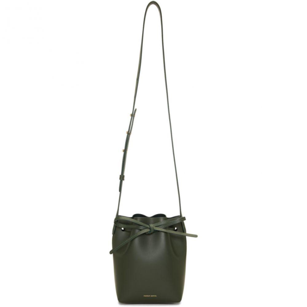マンサーガブリエル Mansur Gavriel レディース バッグ ショルダーバッグ【Green Mini Mini Bucket Bag】