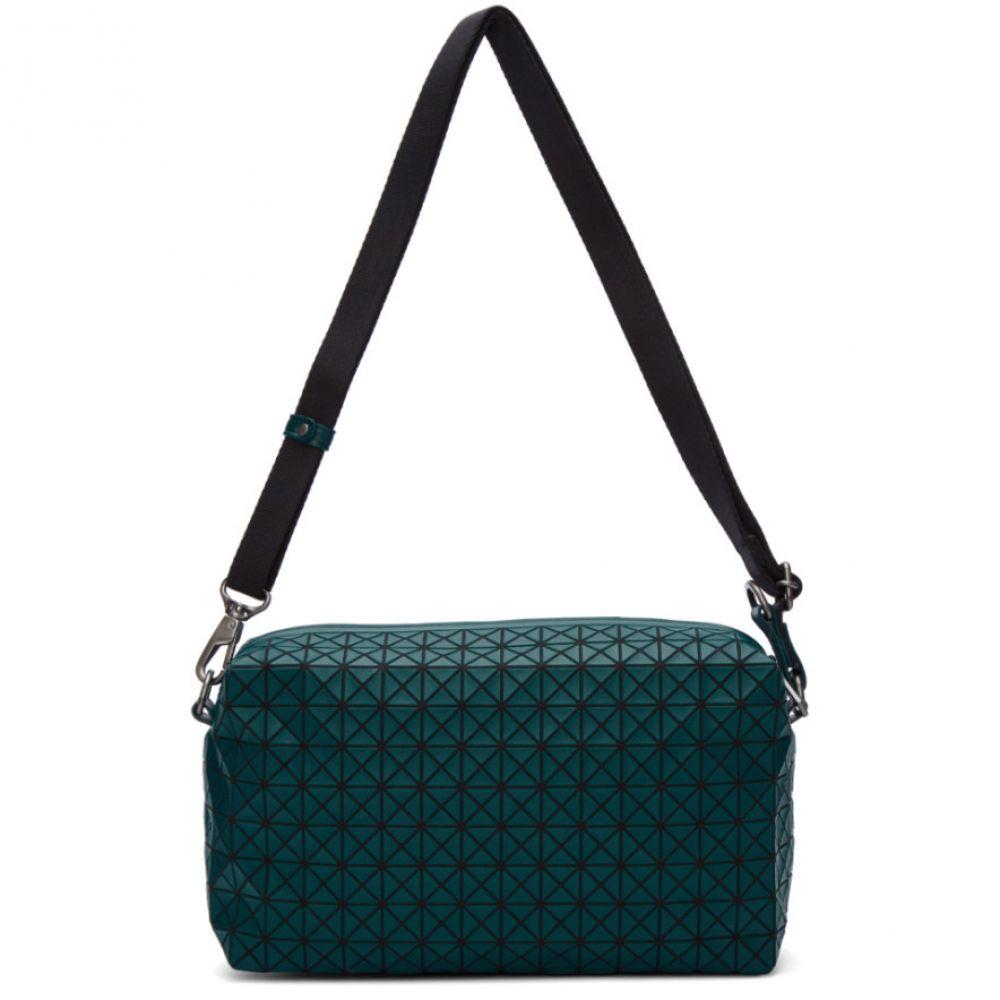 イッセイ ミヤケ Bao Bao Issey Miyake メンズ バッグ メッセンジャーバッグ【Green Saddle Bag】