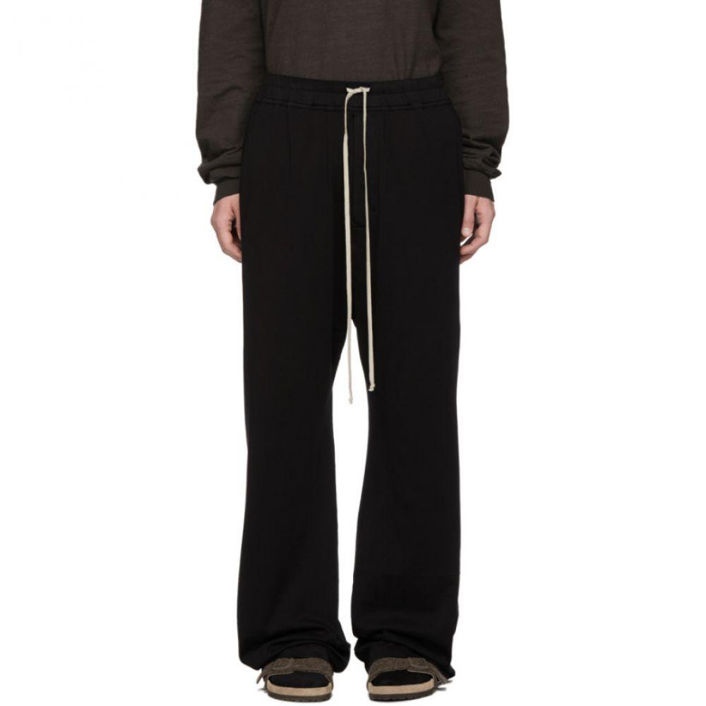 リック オウエンス Rick Owens Drkshdw メンズ ボトムス・パンツ スウェット・ジャージ【Black Mastodon Drawstring Lounge Pants】