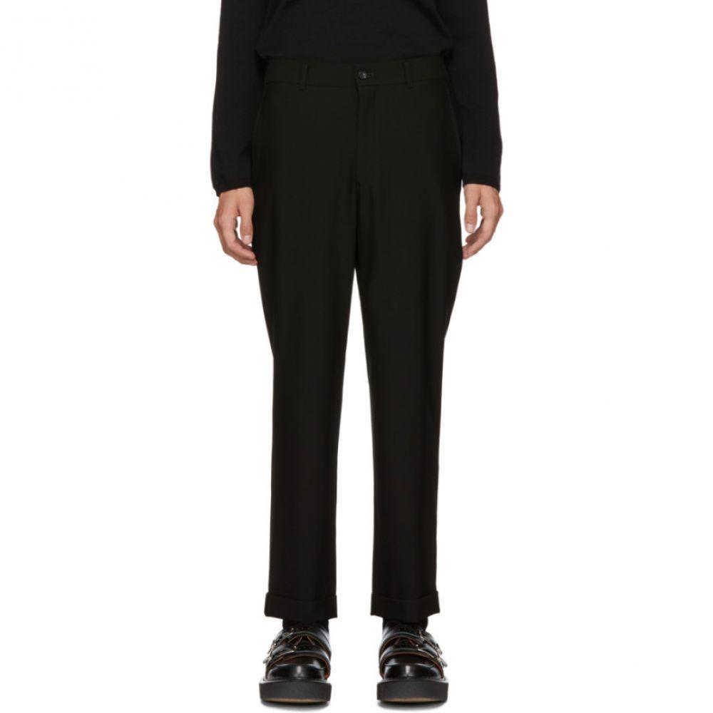 コム デ ギャルソン Comme des Garcons Homme Plus メンズ ボトムス・パンツ【Black Barathea Trousers】