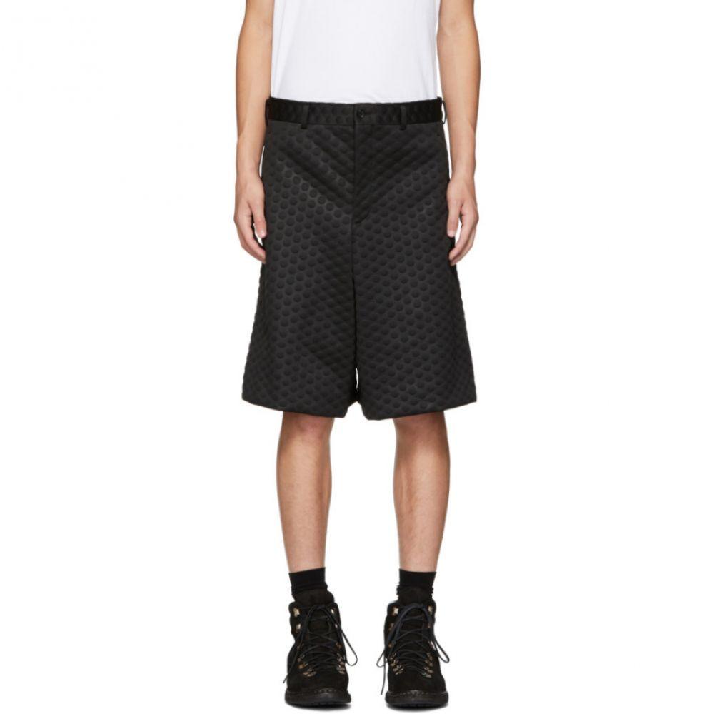 コム デ ギャルソン Comme des Garcons Homme Plus メンズ ボトムス・パンツ ショートパンツ【Black Embossed Shorts】