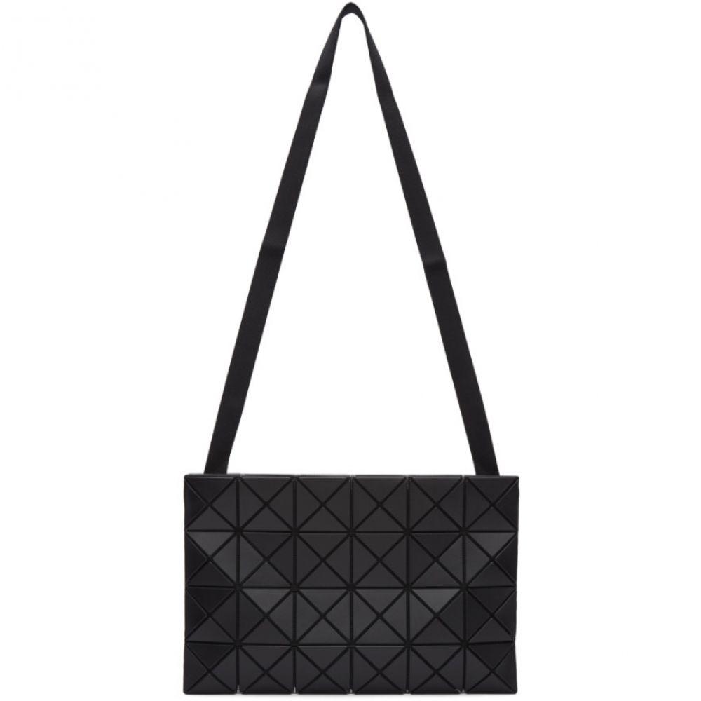イッセイ ミヤケ Bao Bao Issey Miyake メンズ バッグ メッセンジャーバッグ【Black Lucent Messenger Bag】