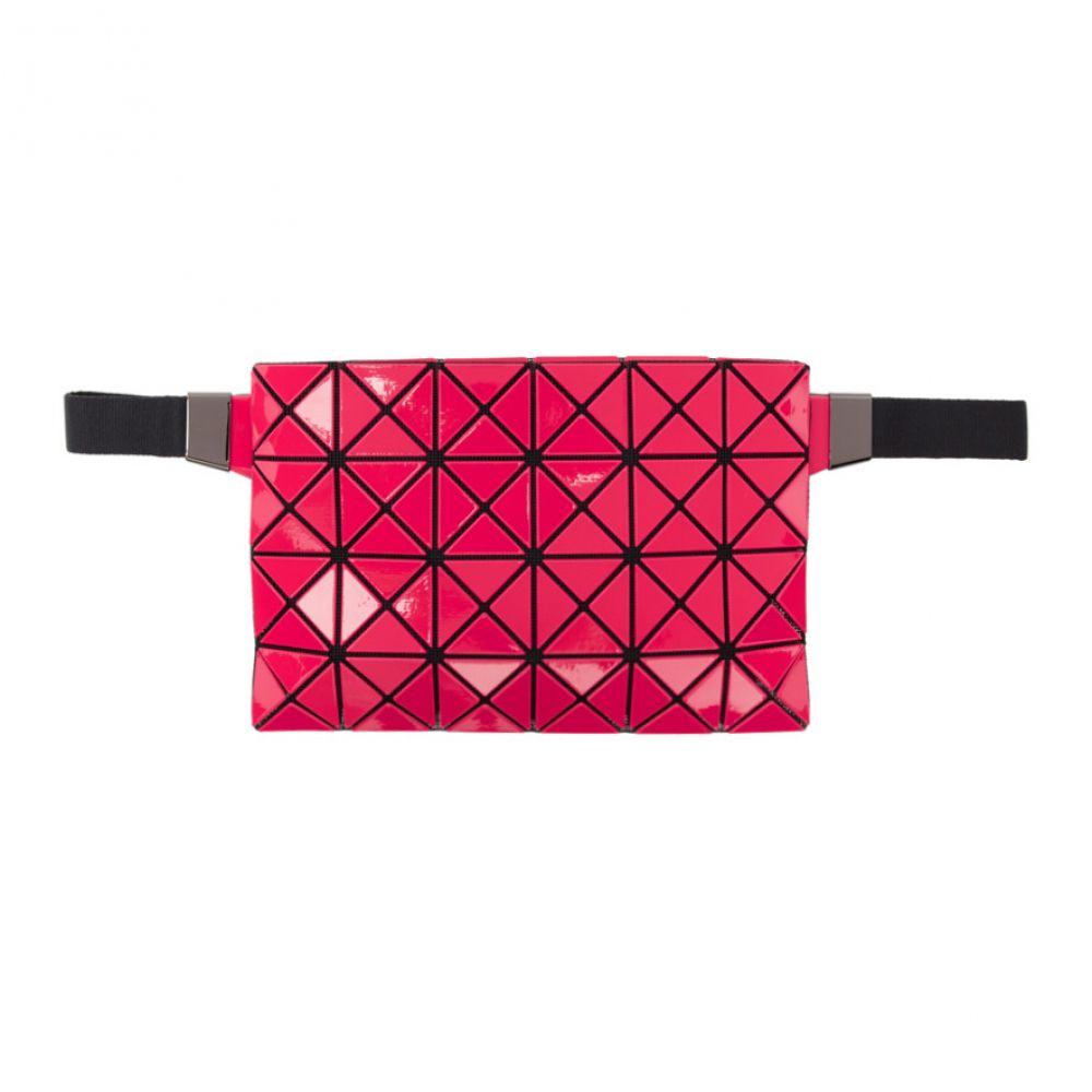 イッセイ ミヤケ Bao Bao Issey Miyake メンズ バッグ ボディバッグ・ウエストポーチ【Red & Black Waist Pouch】