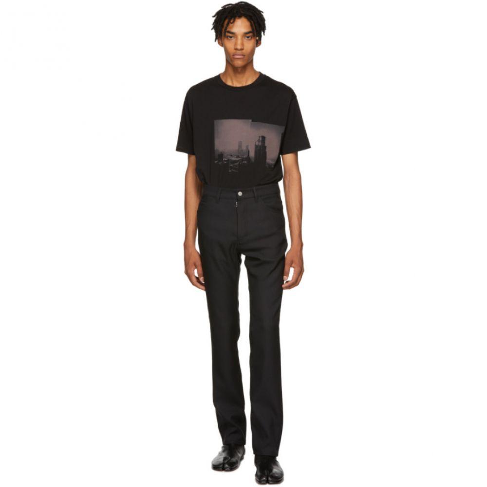 メゾン マルジェラ Maison Margiela メンズ ボトムス・パンツ ジーンズ・デニム【Black Techno Gabardine Jeans】