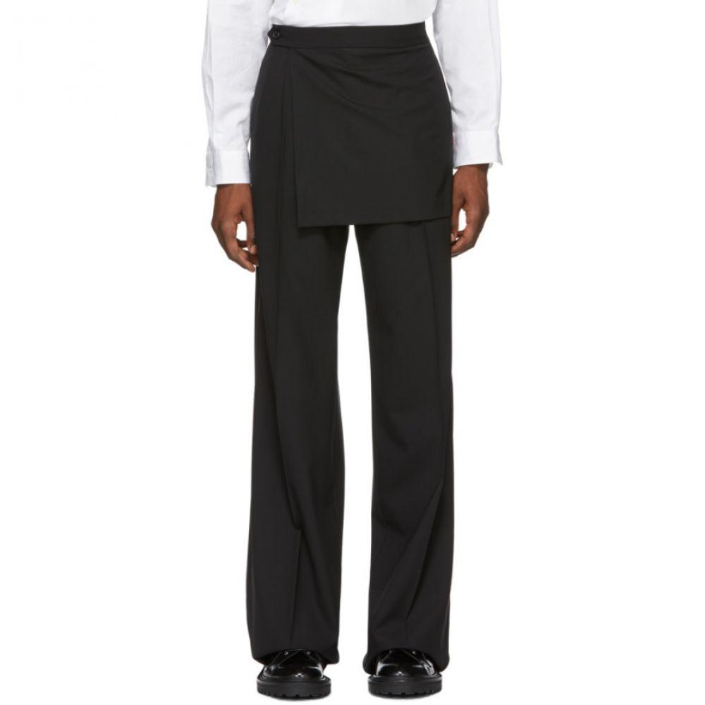 新品即決 ヤンリ Yang Wide Li メンズ ボトムス・パンツ ヤンリ Trousers】【Black Wide Trousers】, 静内郡:c9f1e5a0 --- portalitab2.dominiotemporario.com